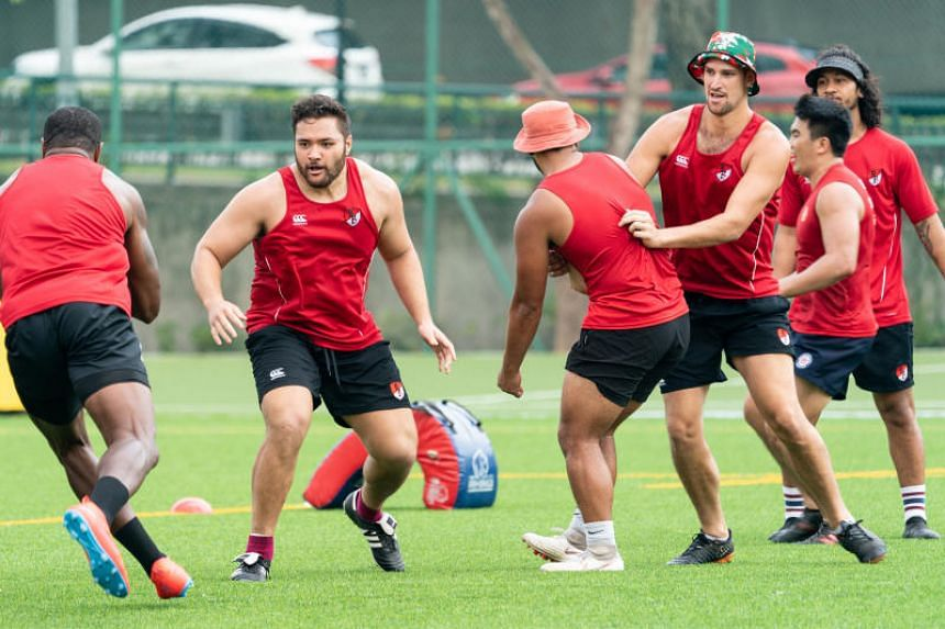 The Asia Pacific Dragons' squad features players from Australia, New Zealand and South Africa, and a Singapore international.