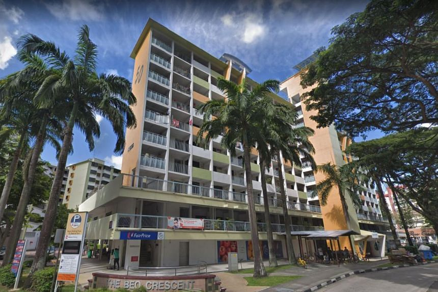The teenager locked himself in a flat at Block 50 Havelock Road.