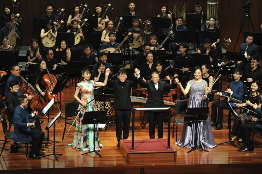 This concert by Ding Yi Music Company, augmented to four times its usual size and conducted by Quek Ling Kiong, was a celebration of Peng's legacy.