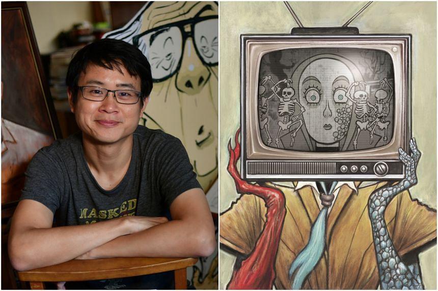 Singaporean cartoonist Sonny Liew is up for Best Penciller/Inker or Penciller/Inker Team for the limited series Eternity Girl (2018).
