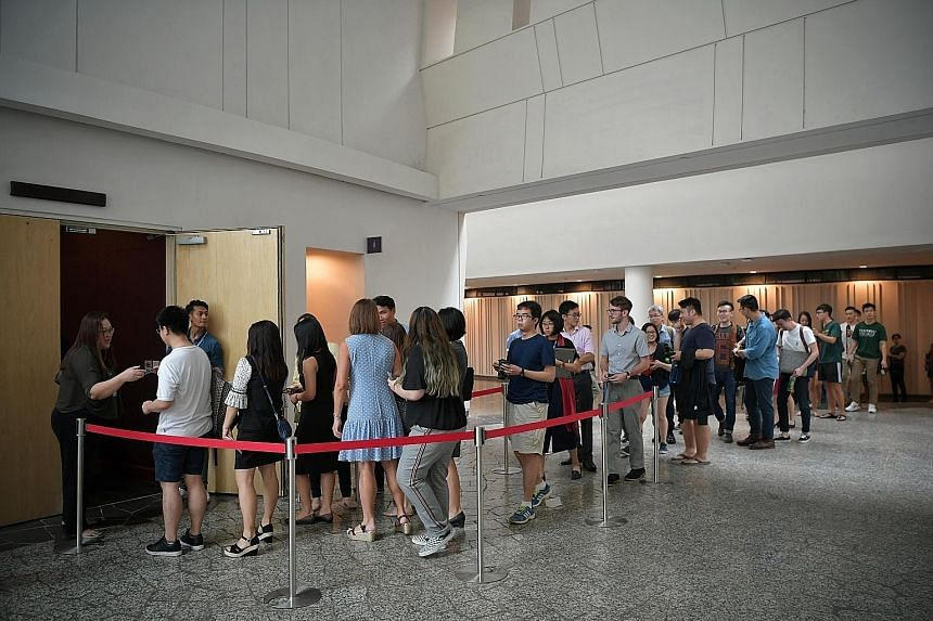 Many NUS undergrads felt that the punishments - a one-semester suspension, a ban from entering Eusoff Hall (left) where the offence took place and mandatory counselling - were too lenient for the perpetrator.