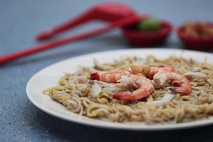 Come Daily Fried Hokkien Mee.