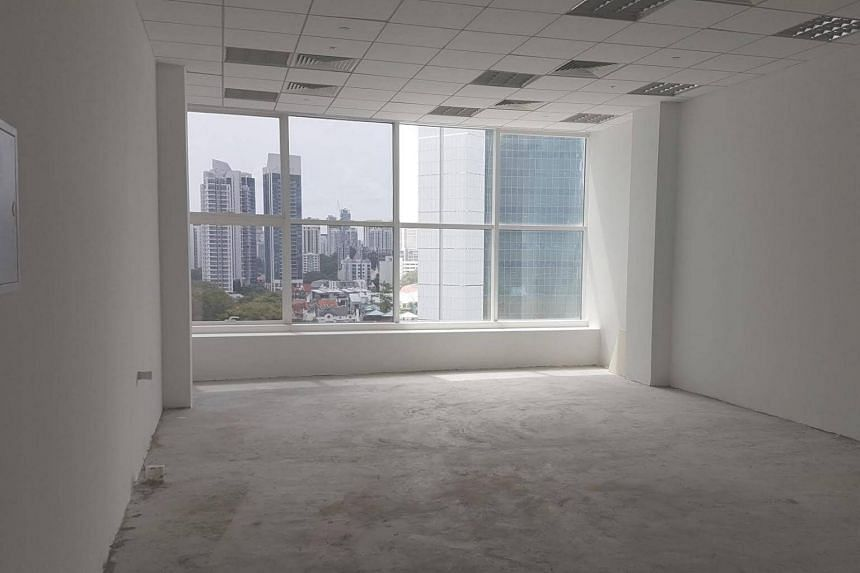 A 700 square feet medical suite at Novena Medical Centre has been empty for three months.