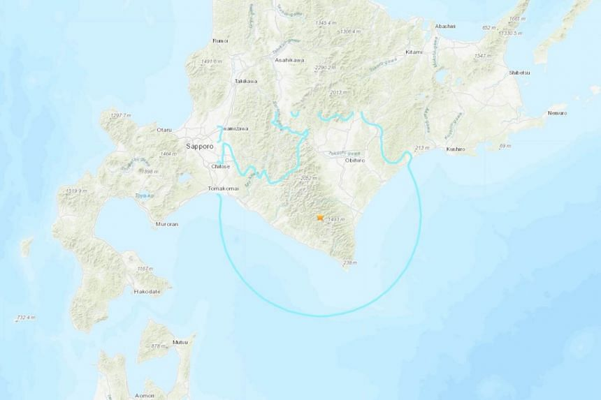 The earthquake logged 4 on Japan's seismic scale which peaks at 7 in multiple regions in Hokkaido.