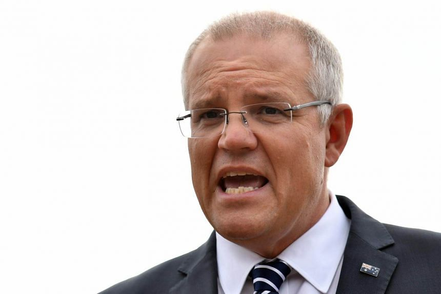 Prime Minister Scott Morrison's centre-right government is trailing the main Labor opposition in opinion polls ahead of next month's ballot.