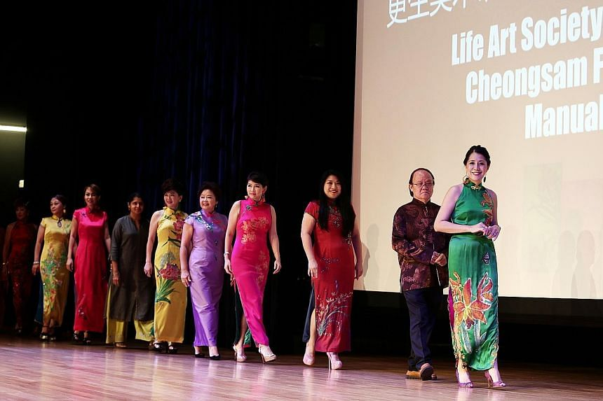 Ms Grace Chew, (above, right).