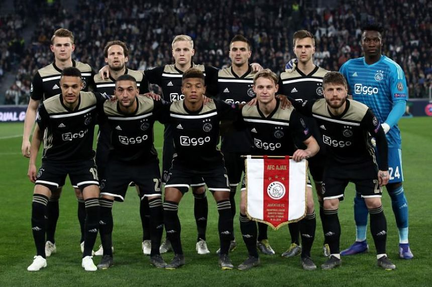 fbf9cff7d Ajax face Tottenham Hotspur in the Champions League semi-final after  beating reigning champions Real