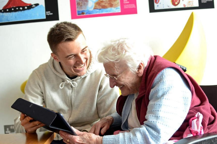 The My House of Memories app is designed to be easy to use, with moving icons and animations used to reorientate dementia patients.