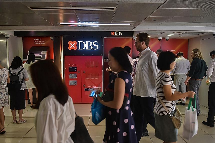 DBS' record quarterly earnings have set the benchmark for the likes of smaller rivals UOB and OCBC Bank when they report their results in the coming days.