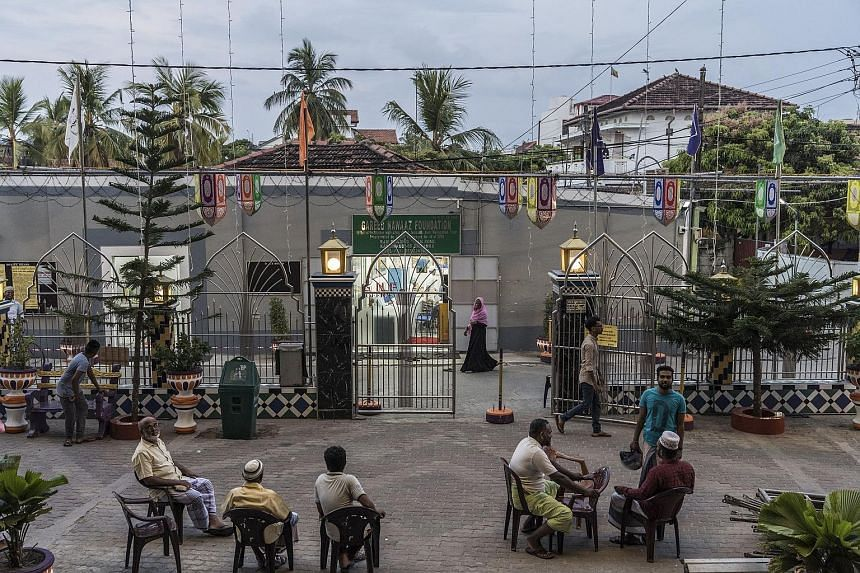 The courtyard of a Sufi mosque in Sri Lanka's Kattankudy. Beginning in 2004, Wahhabi-influenced youth in the town began attacking Sufis, who practise a mystical form of Islam. It was also in Kattankudy that Zaharan Hashim, the man accused of mastermi