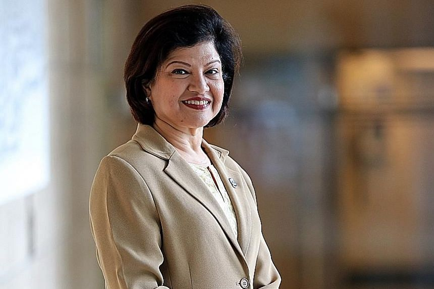 Ms Suman Balani, 55, president of the Singapore chapter of the International Coach Federation, says that coaches are neither therapists nor consultants, but guides to help people find their fullest potential.