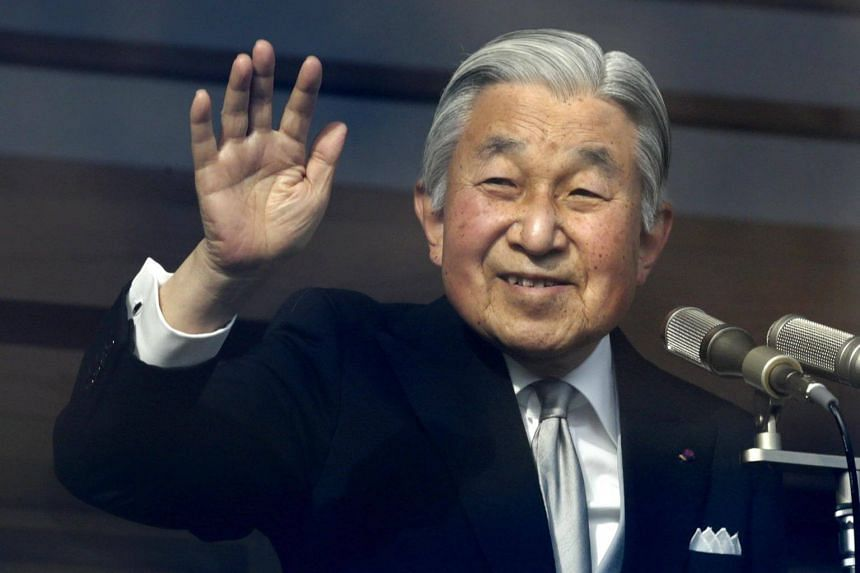 Emperor Akihito, 85, helped modernise the world's oldest hereditary monarchy.