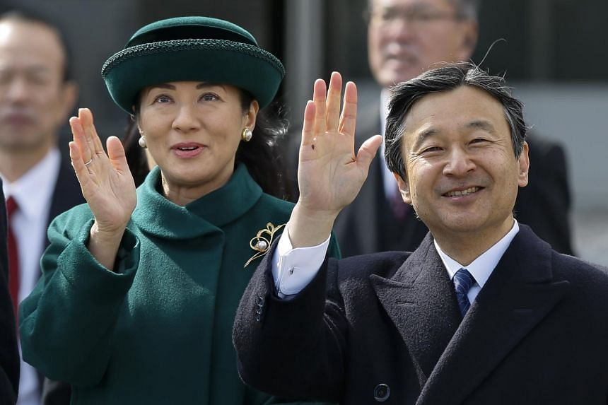 Japanese Crown Prince Naruhito (right) has not been shy about criticising the sometimes stifling lifestyle imposed on royals, particularly as his wife Crown Princess Masako has struggled to adapt to imperial life.