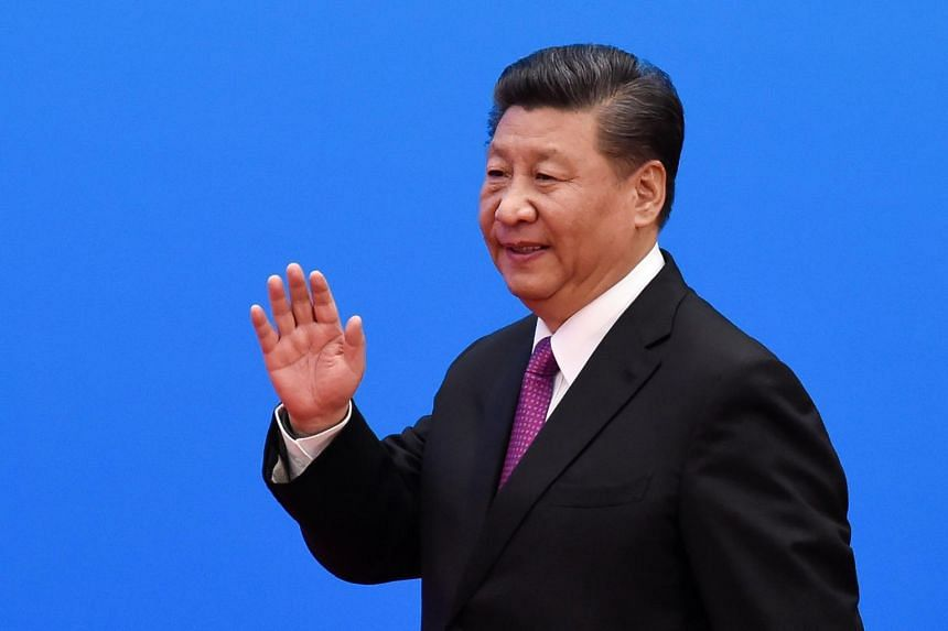 """Chinese President Xi Jinping told a gathering of senior officials this month that as part of the May 4 anniversary, the Communist Party must guide the youth to """"obey the party and follow the party""""."""