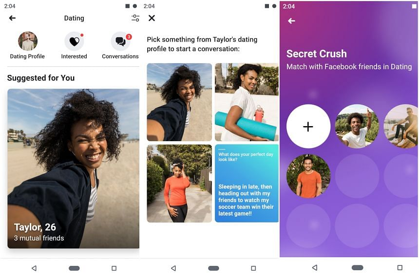 Besides Singapore, Facebook Dating is also being launched in countries from Malaysia and Vietnam to Brazil and Chile. Only the users' first name and age are ported over from their main Facebook profiles.