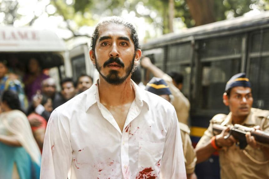 Still from the movie Hotel Mumbai starring Dev Patel.