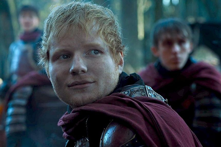 English folk-pop star Ed Sheeran appears in season seven singing Hands Of Gold as an unnamed Lannister soldier. Icelandic avant-rock band Sigur Ros making a cameo in season four of Game Of Thrones as wedding entertainers singing The Rains Of Castamer