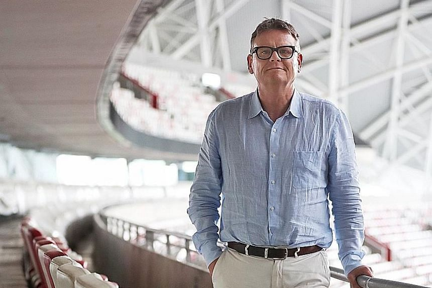 Sports Hub Pte Ltd chairman Bryn Jones is the project's acting chief executive officer, with the new CEO to be appointed by the end of the year.