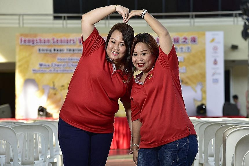 Generation Grit Award 2018 nominee Kelly Goh (left) with family friend Stella Soh, who took her in and looked after her after her parents died. ST FILE PHOTO Generation Grit Award 2018 nominee Lim Bo Zhi and his former school counsellor Christina Tan