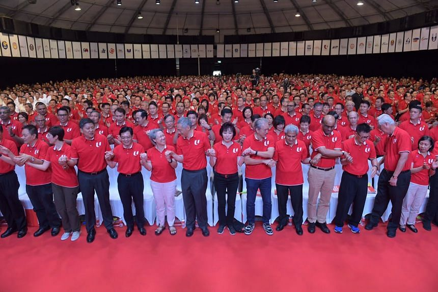 Speaking to about 1,600 unionists in a May Day Rally speech that focused on renewal and transformation, Mr Heng Swee Keat pledged to work with the National Trades Union Congress to take Singaporean workers forward.