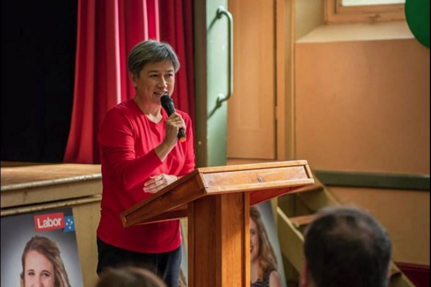 """Malaysian-born Penny Wong backed a relationship with the United States that is """"fundamental"""" to Australian security, but acknowledged """"power is shifting."""""""