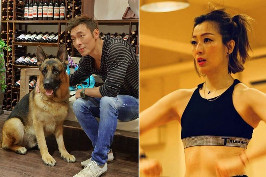 Hong Kong pop star Sammi Cheng (right) reconciled with her husband, Andy Hui (left)