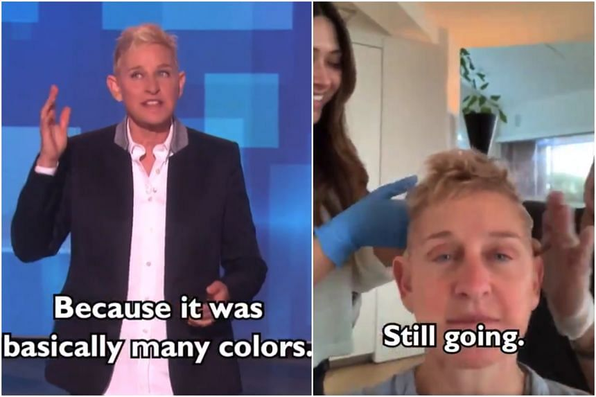 On April 29, Ellen DeGeneres did not brush off speculation about her new hairstyle, but cut to the chase with her full confession.
