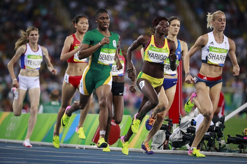 The Court of Arbitration for Sport dismissed Caster Semenya's (in green) appeal against regulations to limit naturally-occurring testosterone levels in athletes with differences of sexual development.