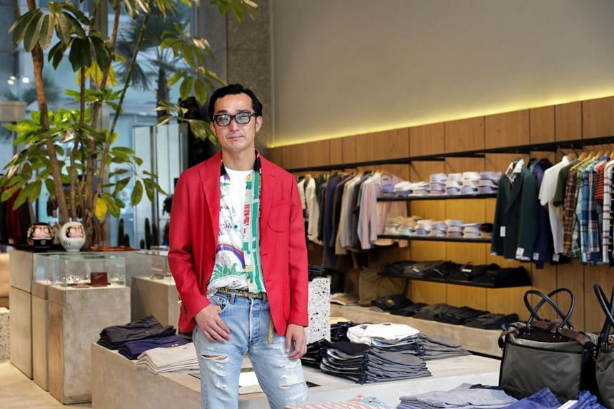 Mr Kozo Kawamura, who founded the boutique Colony Clothing in Singapore five years ago and also designs pieces for its made-in-Japan eponymous label, says Singapore is likely to see more Japanese labels come in.