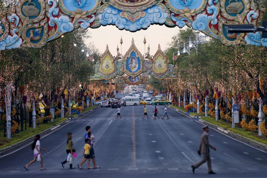 A monarch's coronation is given the utmost priority in Thailand, where kings have traditionally long held a divine status.