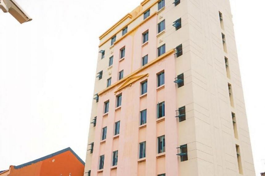 The eight-storey hotel offers 56 double rooms of 12 square metres each.