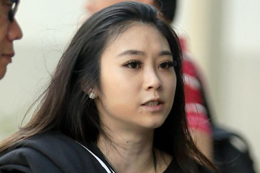 Art school student Grace Quek Xin Hui, 23, pleaded guilty in court to one count each of assault, rioting and criminal intimidation, on May 2, 2019.