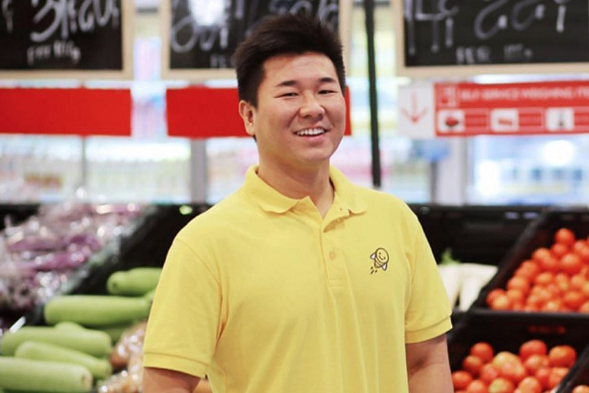 Mr Joel Sng (pictured) co-founded Honestbee in 2015 with Isaac Tay and Jonathan Low.