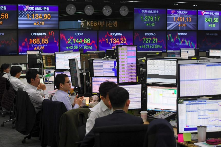 South Korea's KOSPI index added 0.4 per cent as trading in Japan and China halted for the holidays.