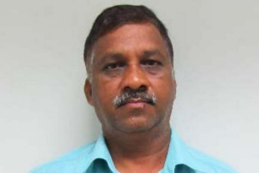 Muthukaruppan Periyasamy faced five counts of corruptly giving gratification of $1,600 to employees of a pest control company.