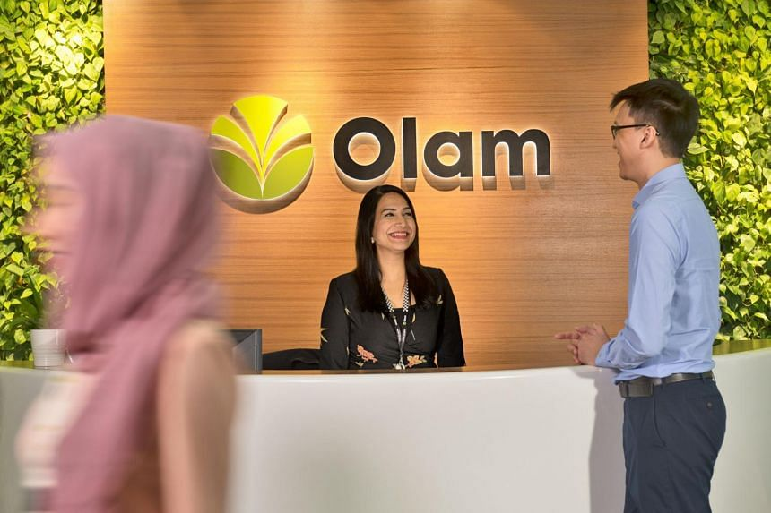Olam International office at Straits View, Marina One East Tower in Singapore.
