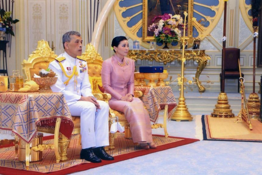 King Maha Vajiralongkorn has legally married Ms Suthida, but the date of their marriage was not specified.