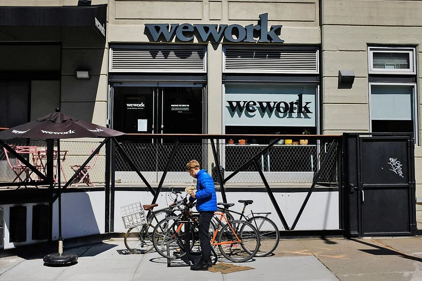 Shared-office firm WeWork has operations in 425 locations as of Dec 31, including in the Williamsburg neighbourhood (above) in Brooklyn, New York. WeWork said on Monday that it had filed confidentially in late December to go public. Its IPO would be