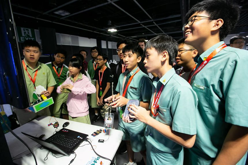 Curious about what Singapore's future will look like? Find out at the Infocomm Media Development Authority's tech carnival, SG:Digital Wonderland 2019. PHOTO: IMDA
