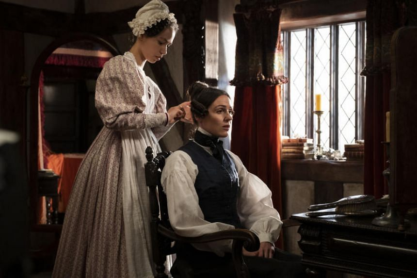 Gentleman Jack takes a look at the extraordinary life of Renaissance woman Anne Lister (Suranne Jones, above right, with Albane Courtois).