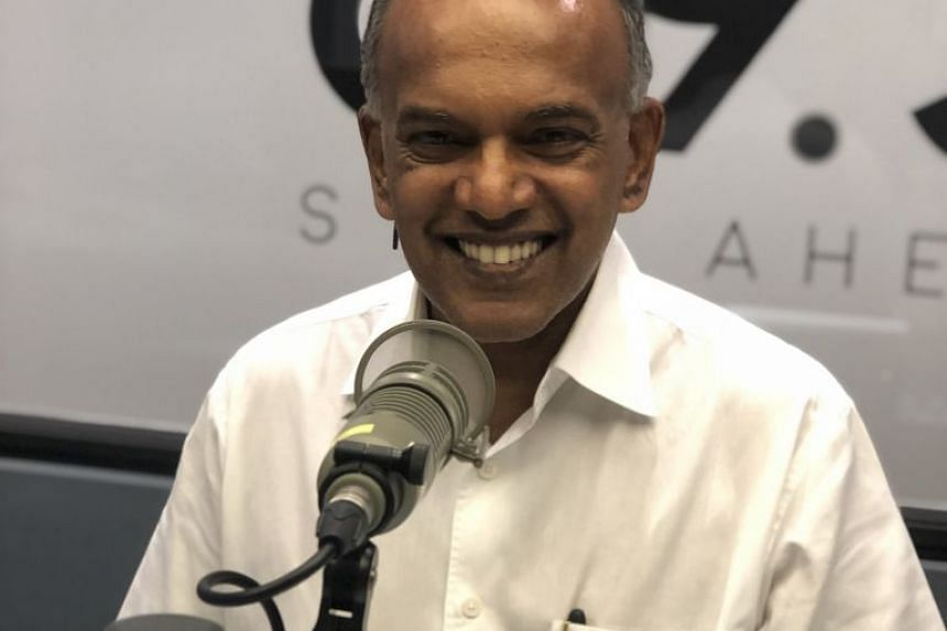 Minister K. Shanmugam (left) - Minister for Law and Minister for Home Affairs - appears in this Money FM podcast to clarify and explain the new and proposed Protection from Online Falsehoods and Manipulation Act.