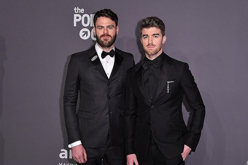 The Chainsmokers' Alex Pall (left) and Drew Taggart.