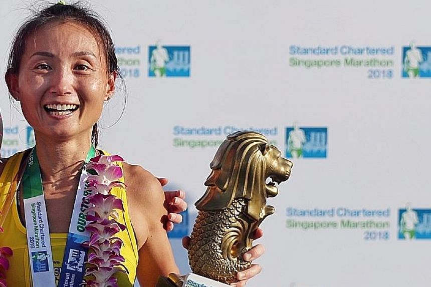Dr Lim Baoying, a surprise winner at last year's Standard Chartered Singapore Marathon, says she took modafinil to fight sleepiness before the race, and decided to relinquish her title when she discovered after the race that the drug was on the prohi