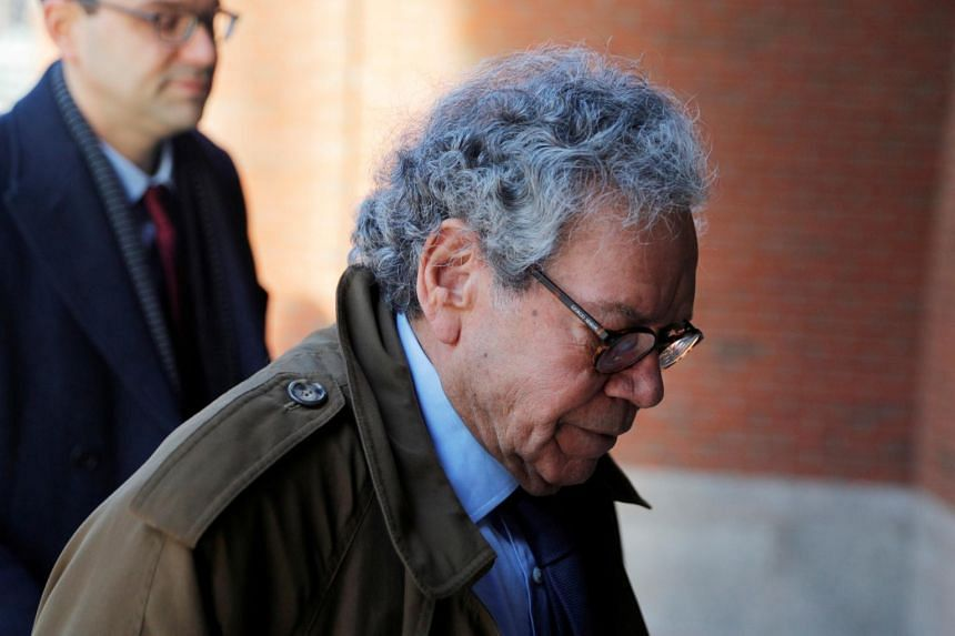 John Kapoor, the billionaire founder of Insys Therapeutics Inc, arrives at the federal courthouse in Boston, Massachusetts, US, on January 28, 2019.