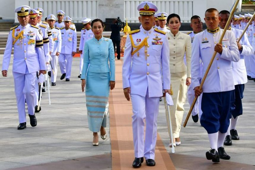 Thailand's King Maha Vajiralongkorn will visit the Temple of the Emerald Buddha to pay respects to the Buddha image on May 3, 2019, before moving to the Grand Palace.