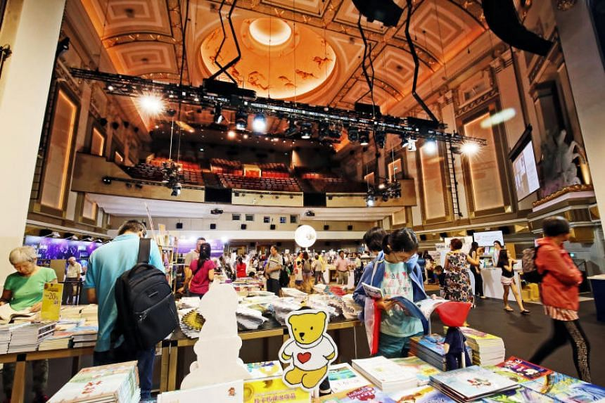 The Singapore Book Fair 2018. This year's edition will start on May 31 and run till June 9.