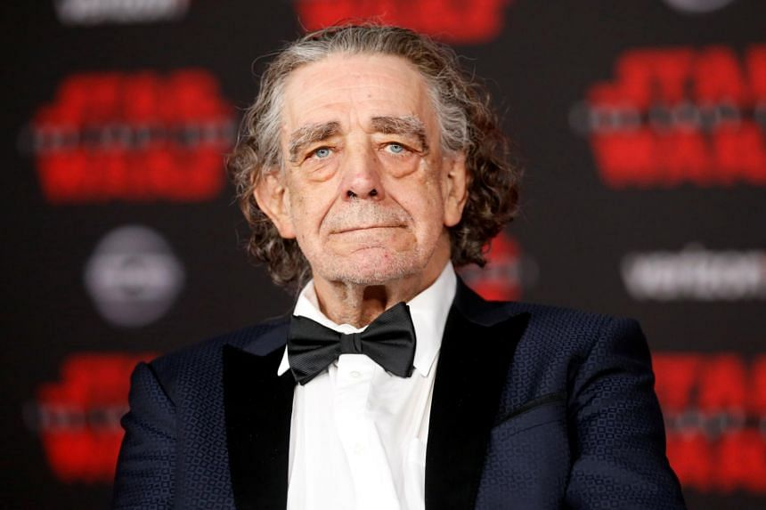 Peter Mayhew attending the premiere of Star Wars: The Last Jedi in Los Angeles, California, on Dec 9, 2017. The 2.21m tall actor died on Tuesday at his home in Texas.
