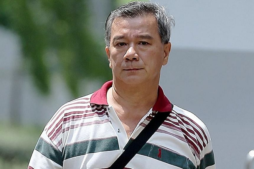 Brothers Shui Poh Sing (left) and Shui Poh Chung own a business in Ghim Moh popularly known as Ah Seng Durian. Poh Chung has been fined $10,000 and ordered to pay a penalty of $46,303.14. Poh Sing will be sentenced next Tuesday.