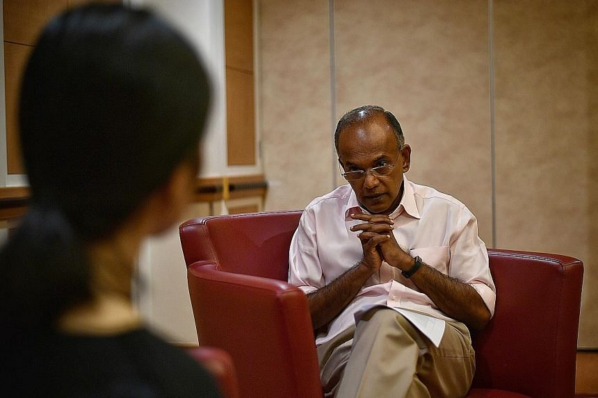 Home Affairs and Law Minister K. Shanmugam, in an interview with The Straits Times on Thursday, said the Protection from Online Falsehoods and Manipulation Bill will not affect most people as it does not apply to people who forward fake news without