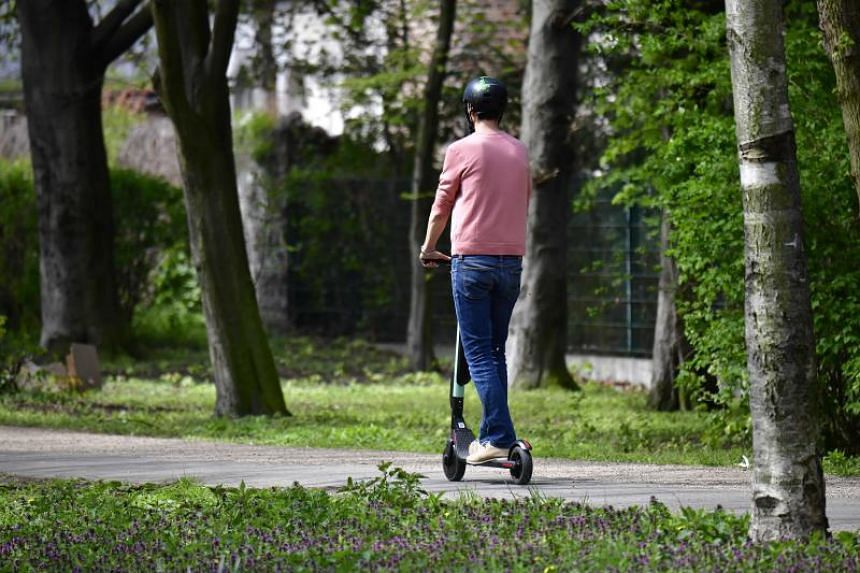 The French move follows a decision by Peru to ban motorised scooters from pavements and pedestrian areas from this week.